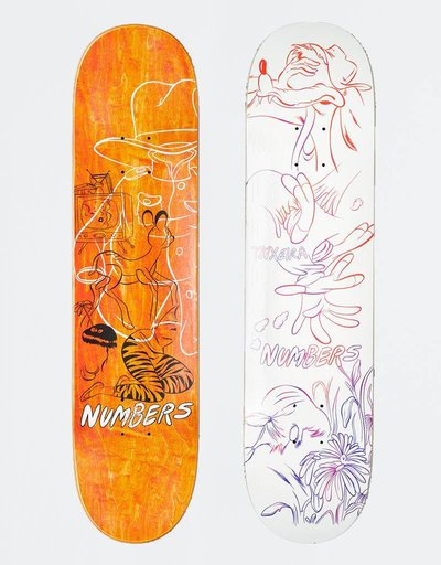 "Numbers Teixeira Edition 4 7,8"" Deck"
