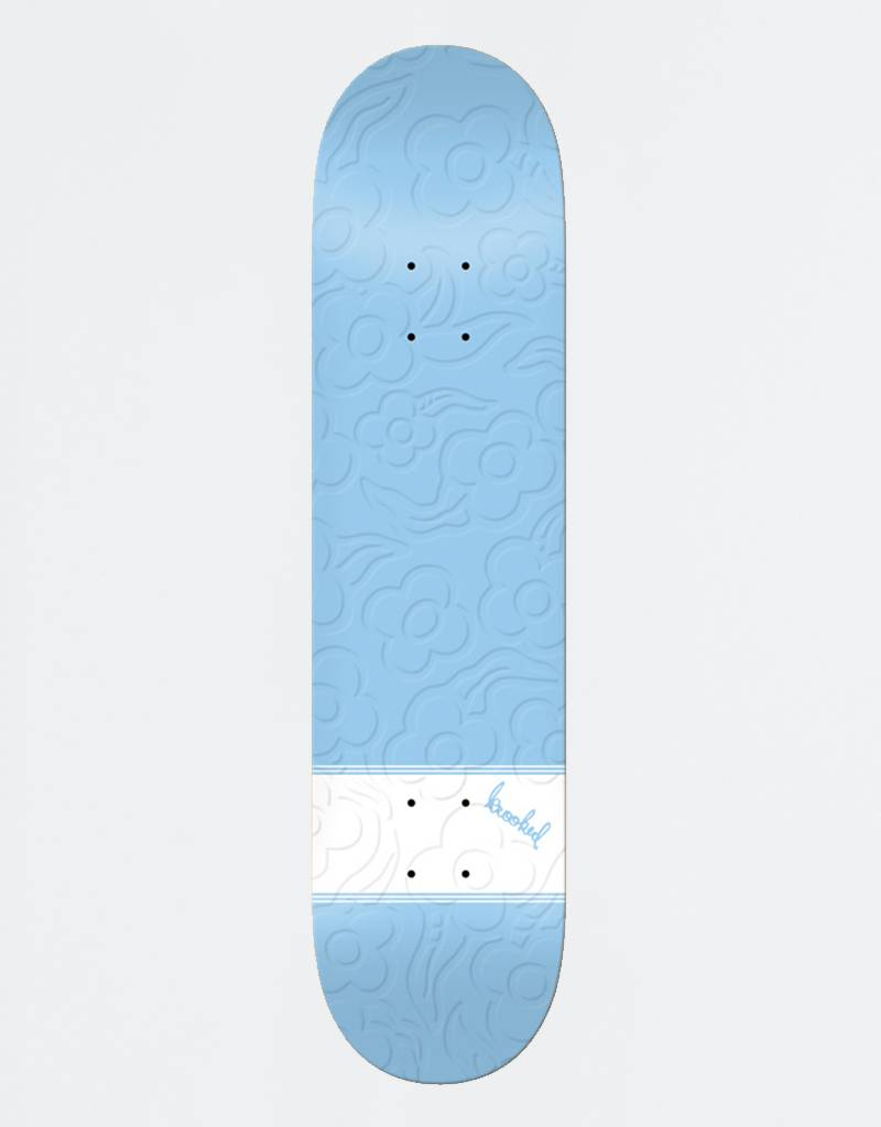 Krooked x Adidas Gonz Bird Threestripes Baby Blue Deck 8,06""