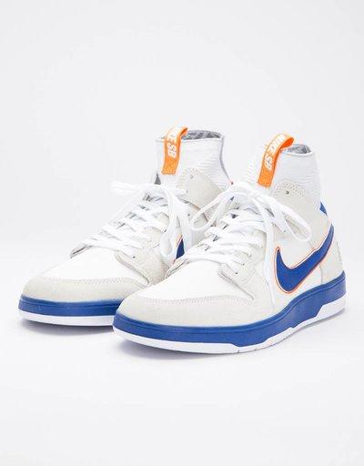 Nike SB x Medicom Zoom Dunk High Elite QS White/Blue/Orange