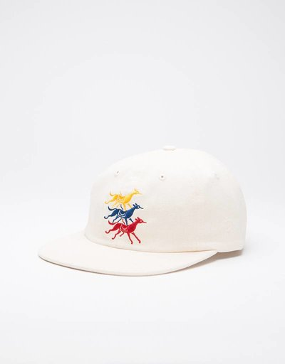 Parra Horse Club Sixpanel Cap Natural