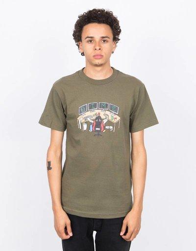 Dime 1337 T-Shirt Olive