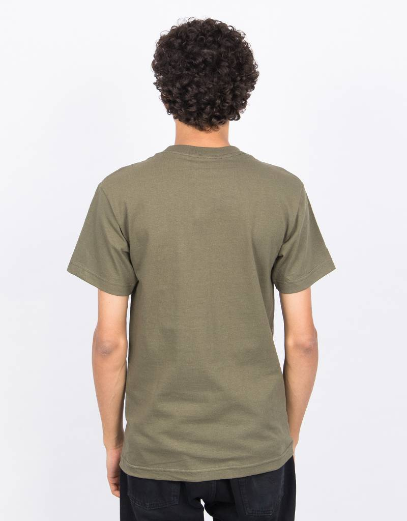 Dime 1337 T-Shirt Olive