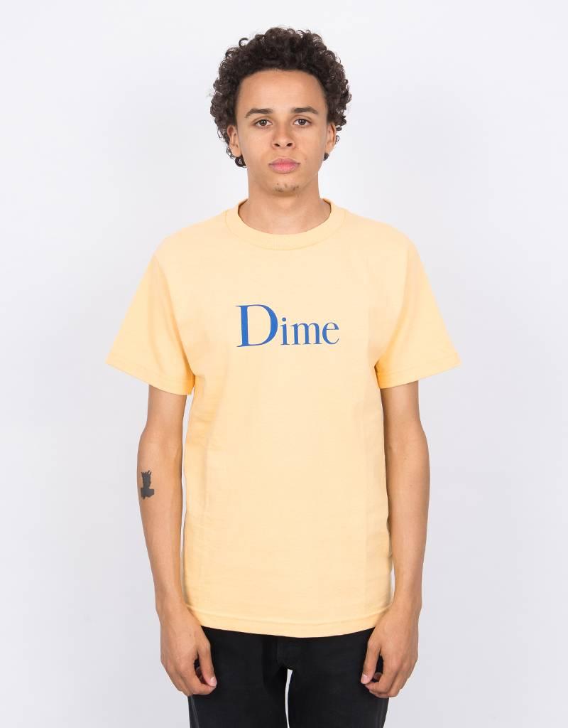 Dime Classic Logo T-Shirt Peach