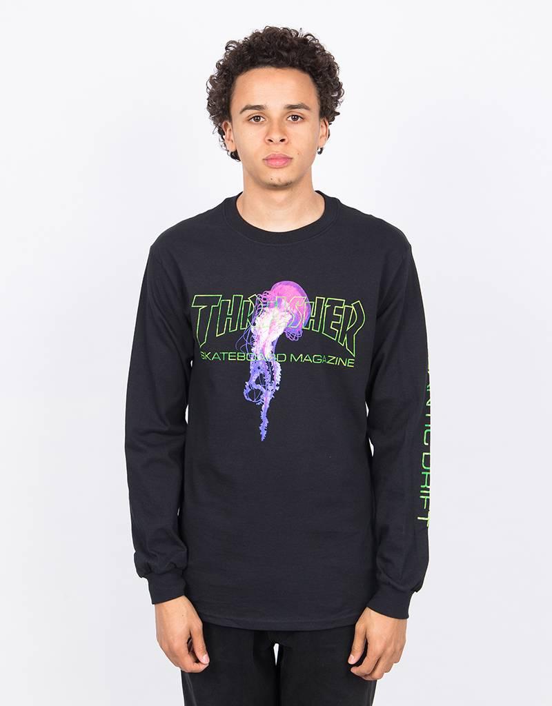 Thrasher Atlantic Drift Longsleeve T-shirt Black
