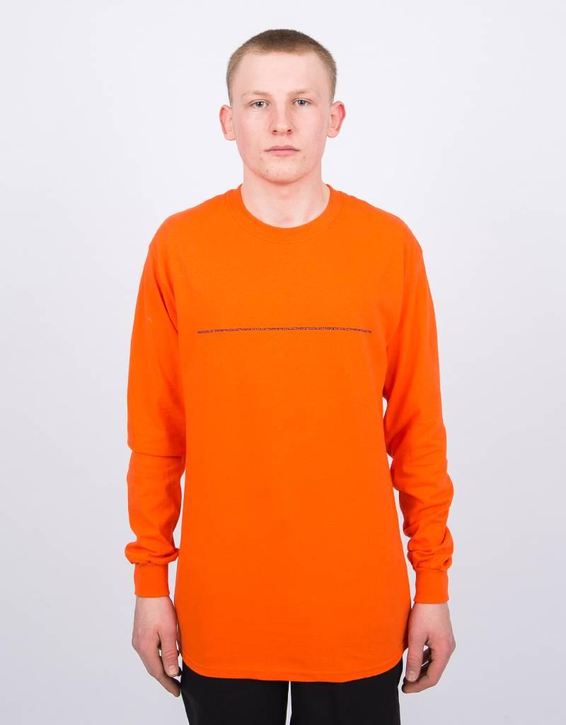 Poetic Collective SS18 Longsleeve Orange