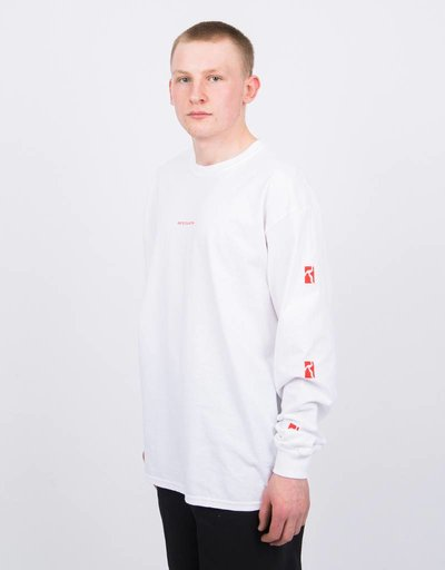 Poetic Collective SS18 Longsleeve White