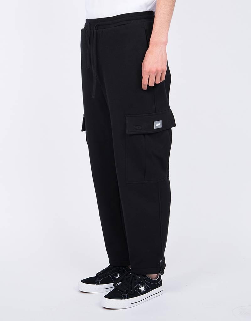 Dime Cargo Sweatpants Black