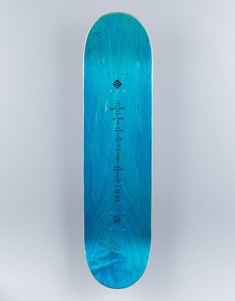 Lockwood x Matters Lucas Beaufort Deck 8.25""
