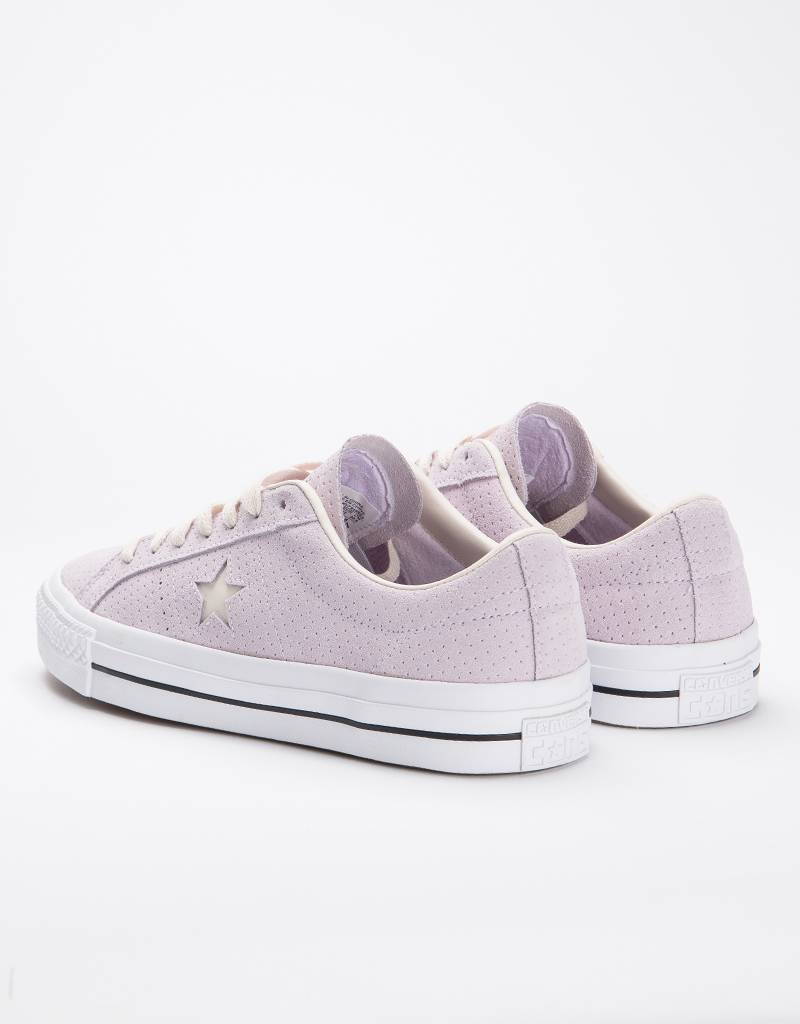 Converse One Star Pro Ox Barely Grape/Wood/WhitE
