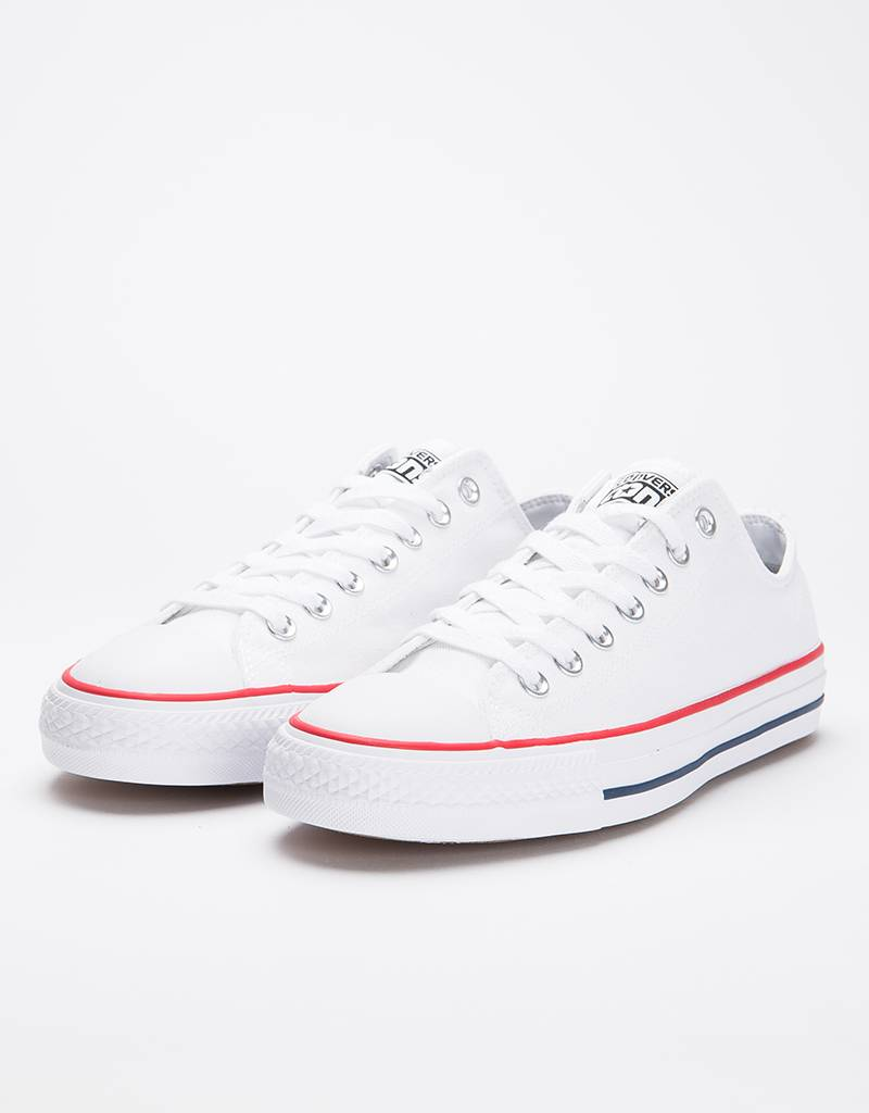 Converse  Ctas Pro Ox White/Red/Blue