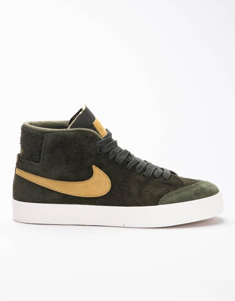 Nike SB Zoom Blazer Mid QS ‰Û÷Club 58‰Ûª Sequoia/Gold
