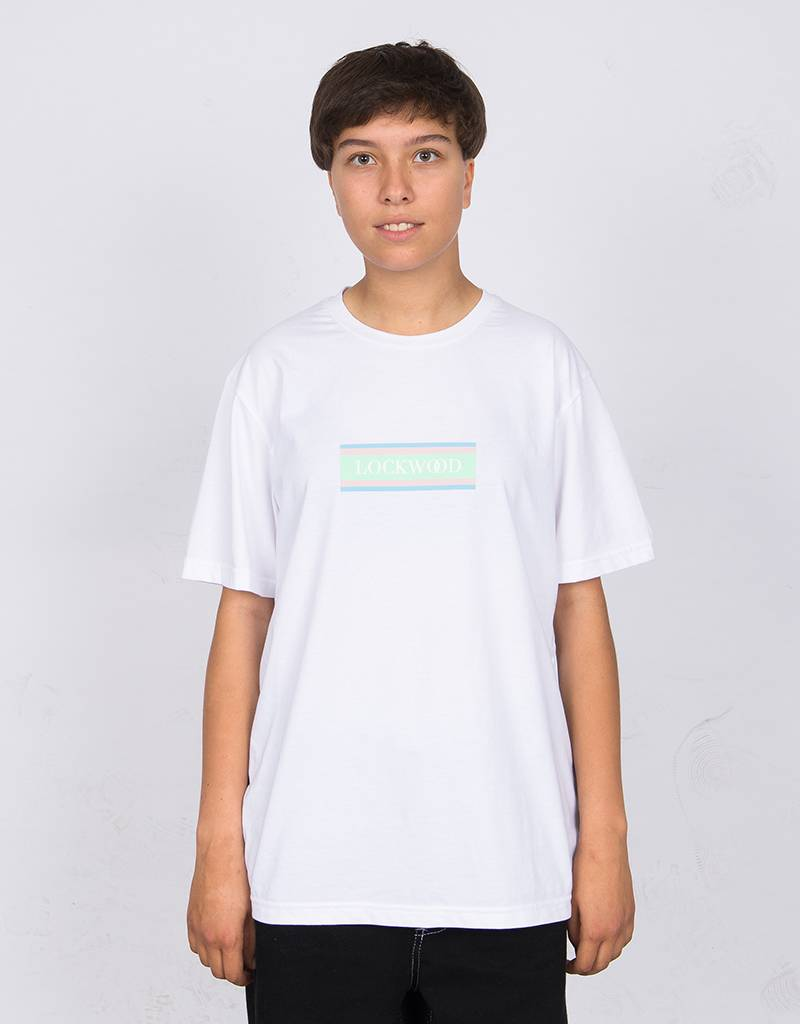 Lockwood T-shirt Flag Logo T-shirt White