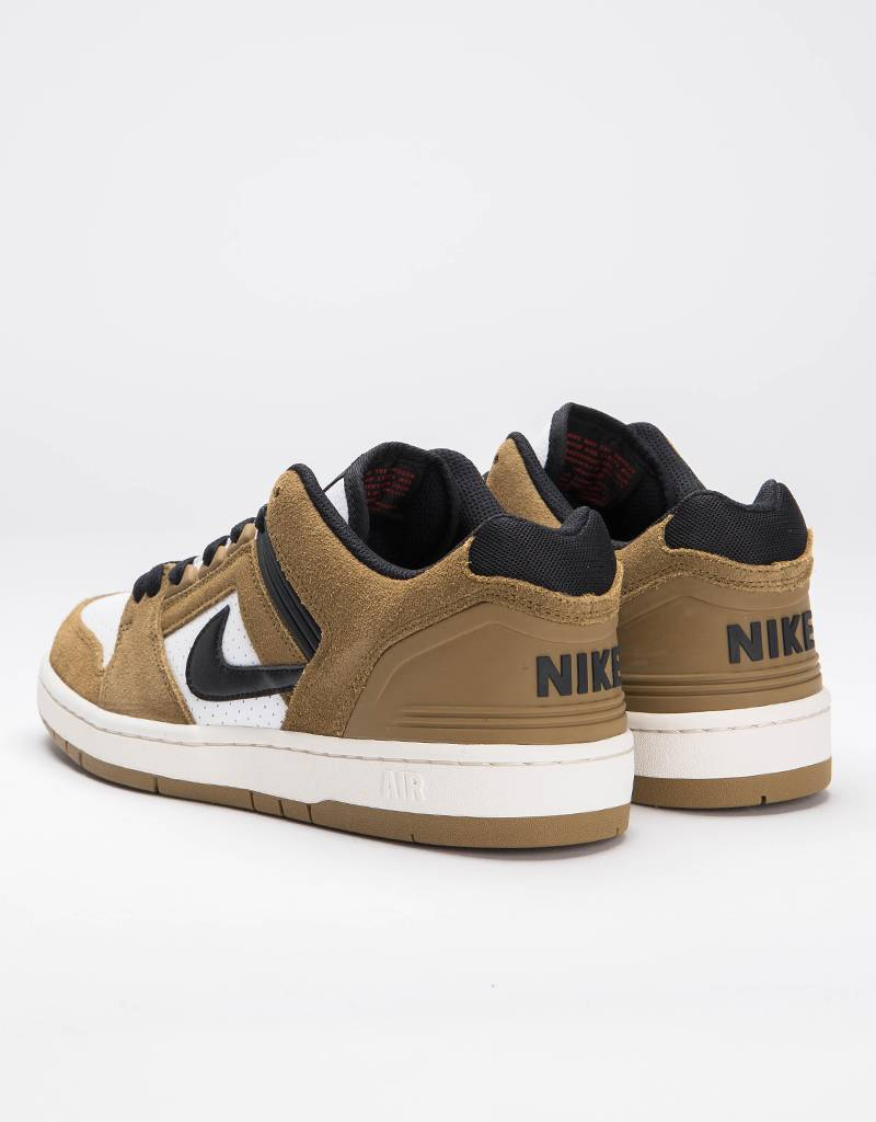Nike SB Air Force II Low Lichen Brown/Black/White