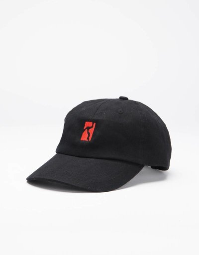 Poetic Collective Cap Black/Red