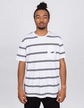 Parra Parra Fallen Pocket T-Shirt White