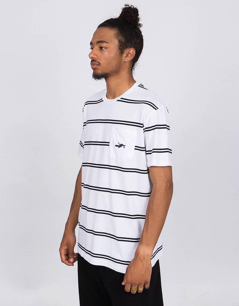 Parra Fallen Pocket T-Shirt White