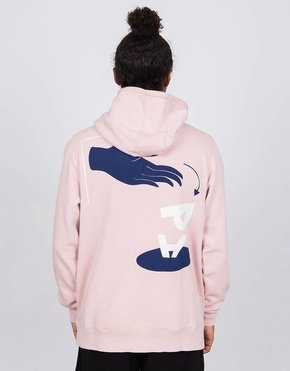 Parra Parra Discarded Hoodie Washed Pink