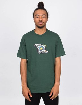 Polar Polar Puff T-Shirt Forest Green
