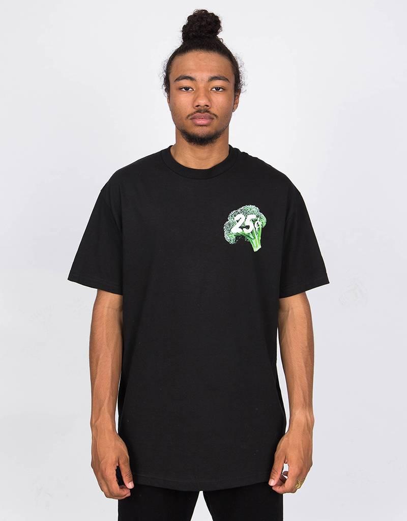 Quartersnacks Veggie Snackman T-Shirt Black