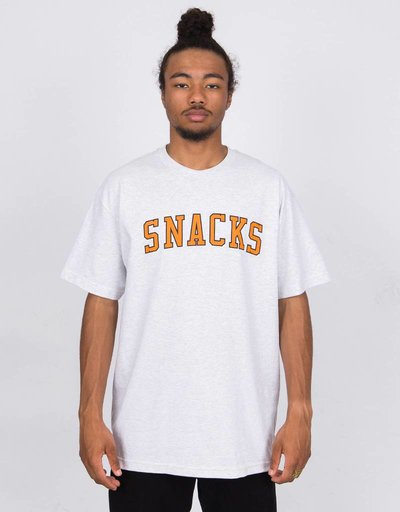 Quartersnacks Varsity Snacks T-Shirt Ash Grey