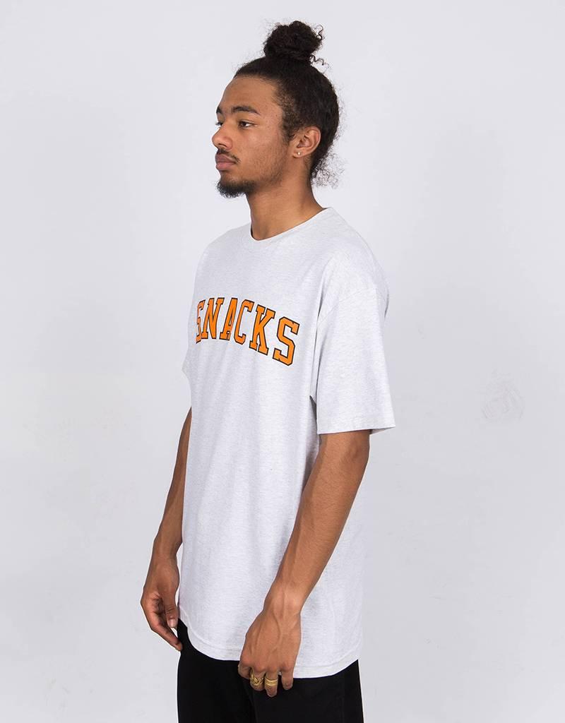 Quartersnacks Varsity Snacks T-Shirt Ash Grey