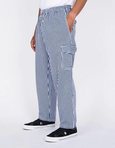 Polar Striped Cargo Pants White/Navy