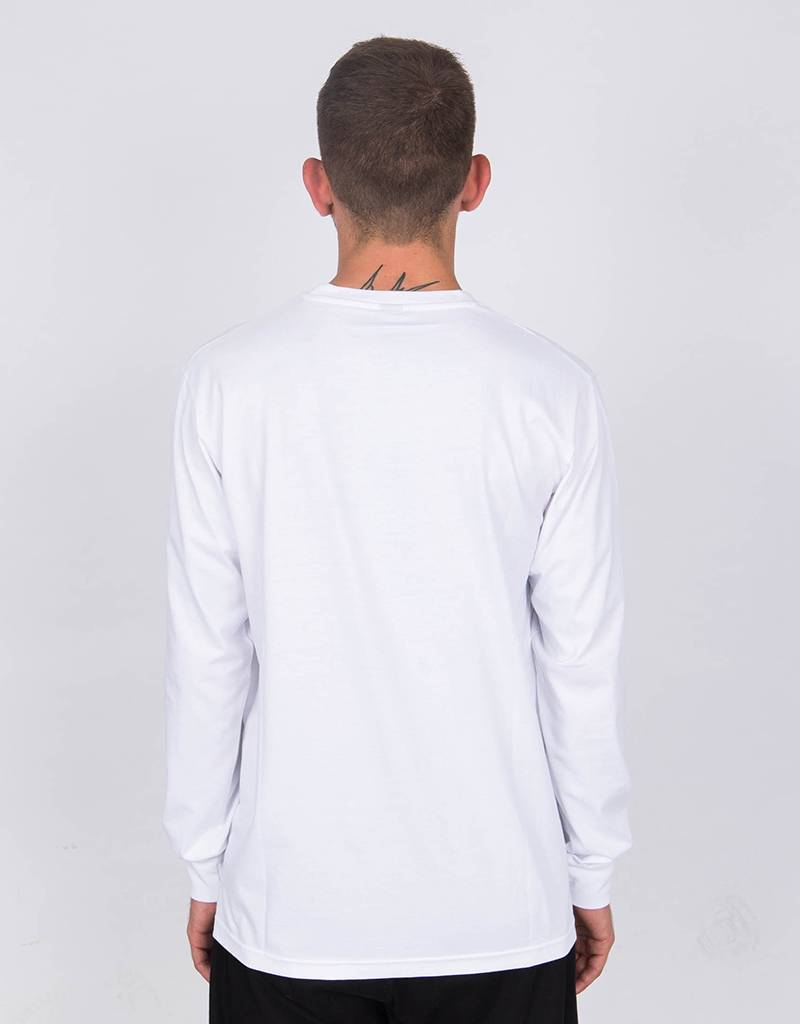 Lockwood Multicolor Embroidered Longsleevee White