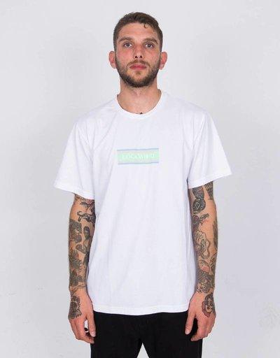 Lockwood T-shirt Flag Logo Miami White