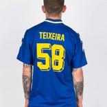 Adidas Teixeiras Jersey Blue/Yellow/White