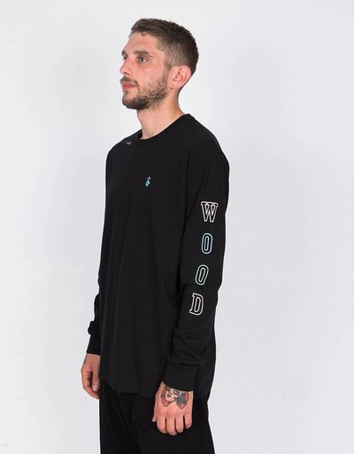 Lockwood Multicolor College Longsleevee Black