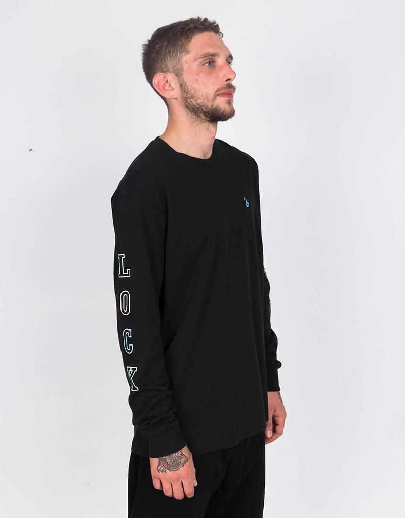 Lockwood Multicolor Sleeve Longsleeve Black
