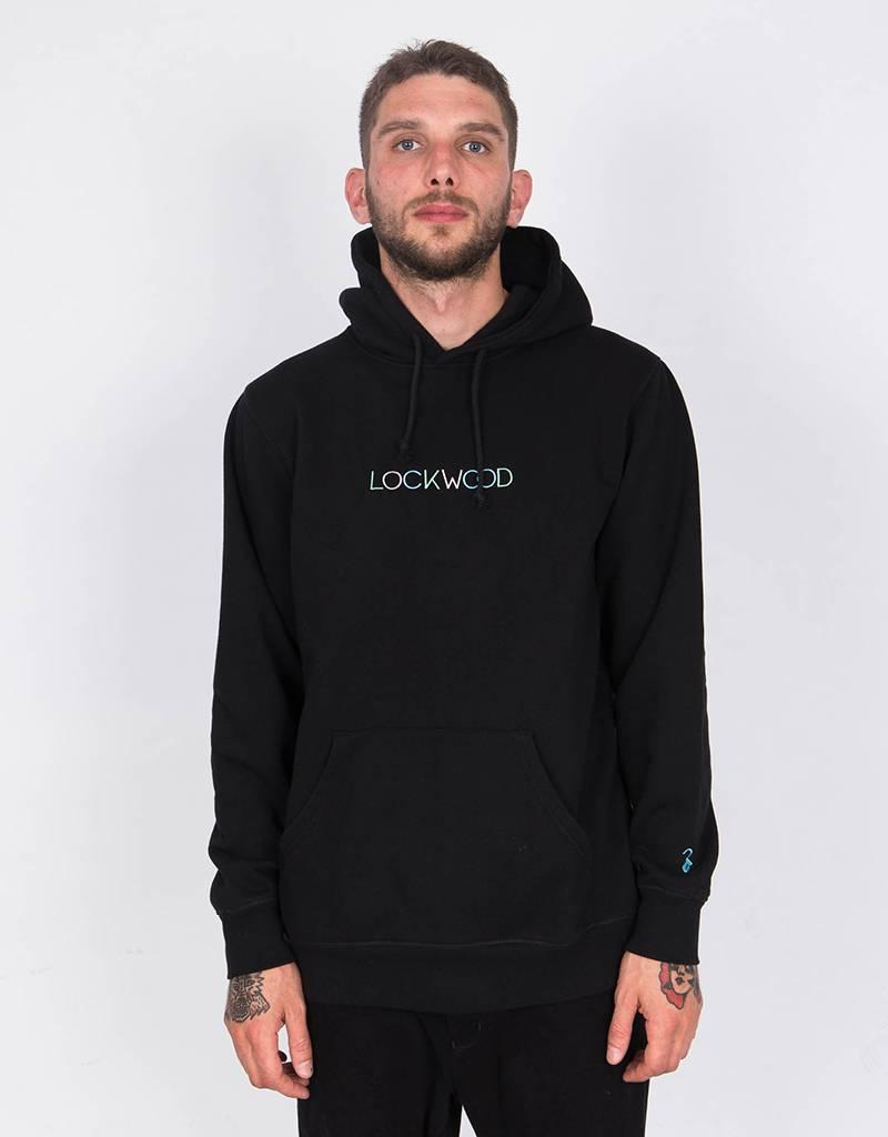 Lockwood Multicolor Embroidered Hoodie Black