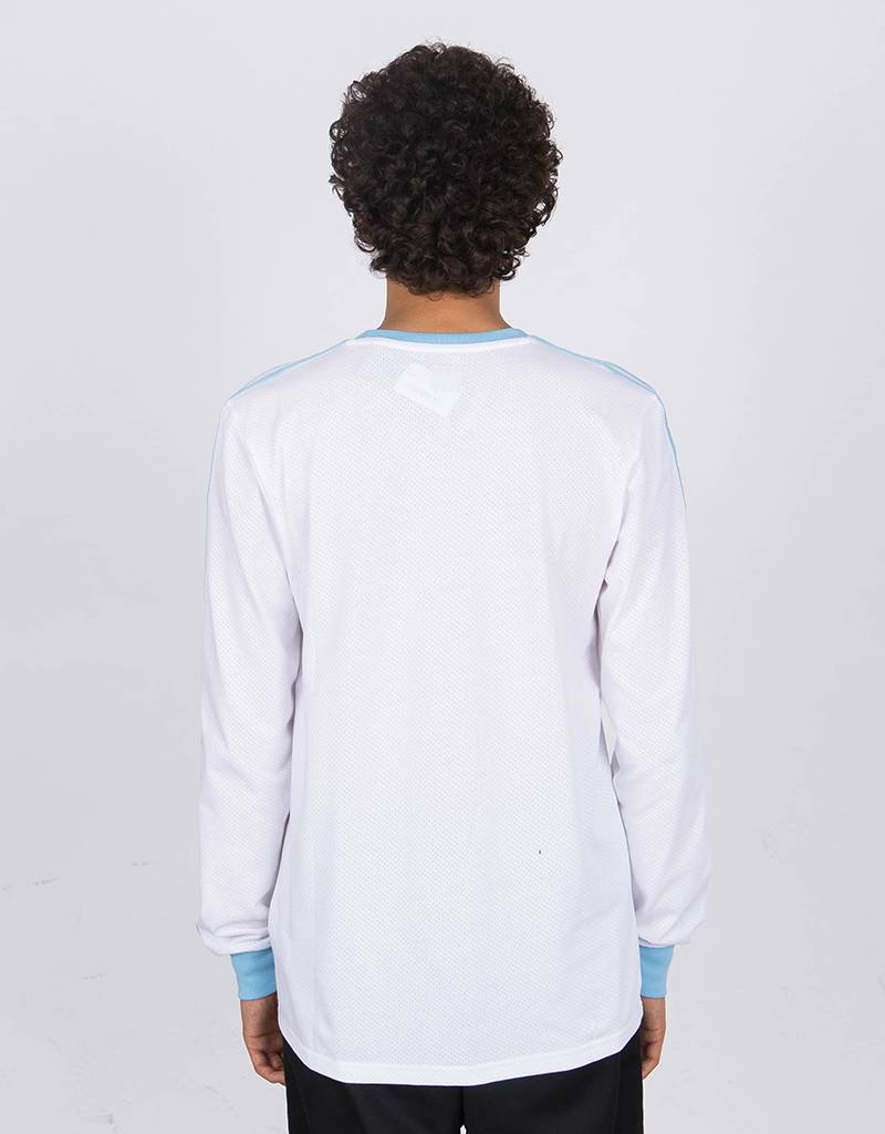 Adidas x Krooked Tee White/Cblue