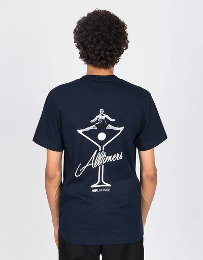Alltimers Splits T-Shirt Navy