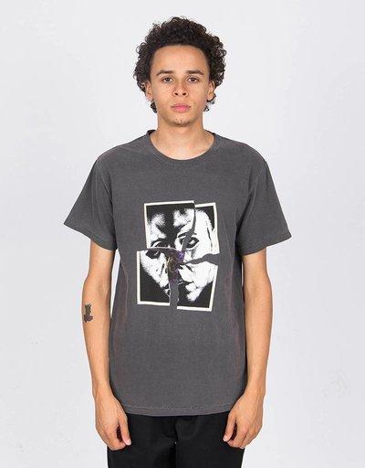 Hockey John Torn T-Shirt Distressed Black