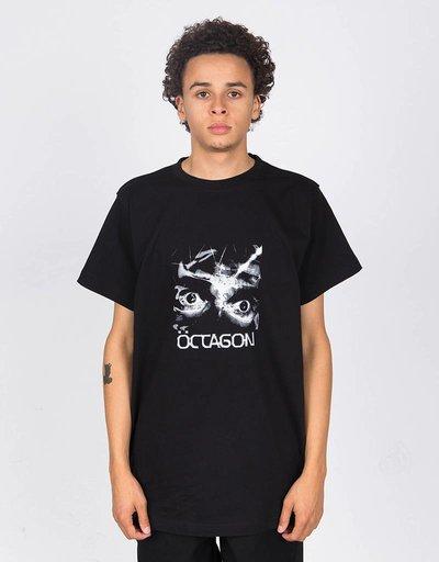 Octagon Flashback T-shirt Black