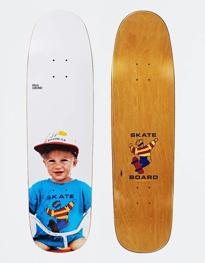 "Polar Paul Grund Kiddo P9 Shape 8,625"" Deck"