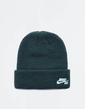 Nike SB Nike Fisherman Beanie Midnight Green/White
