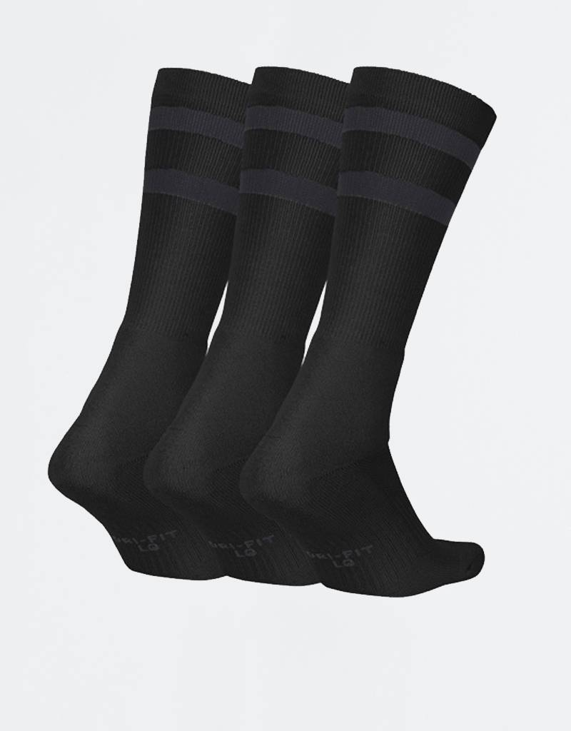 Nike SB Crew Socks 3 Pair Black/Anthracite