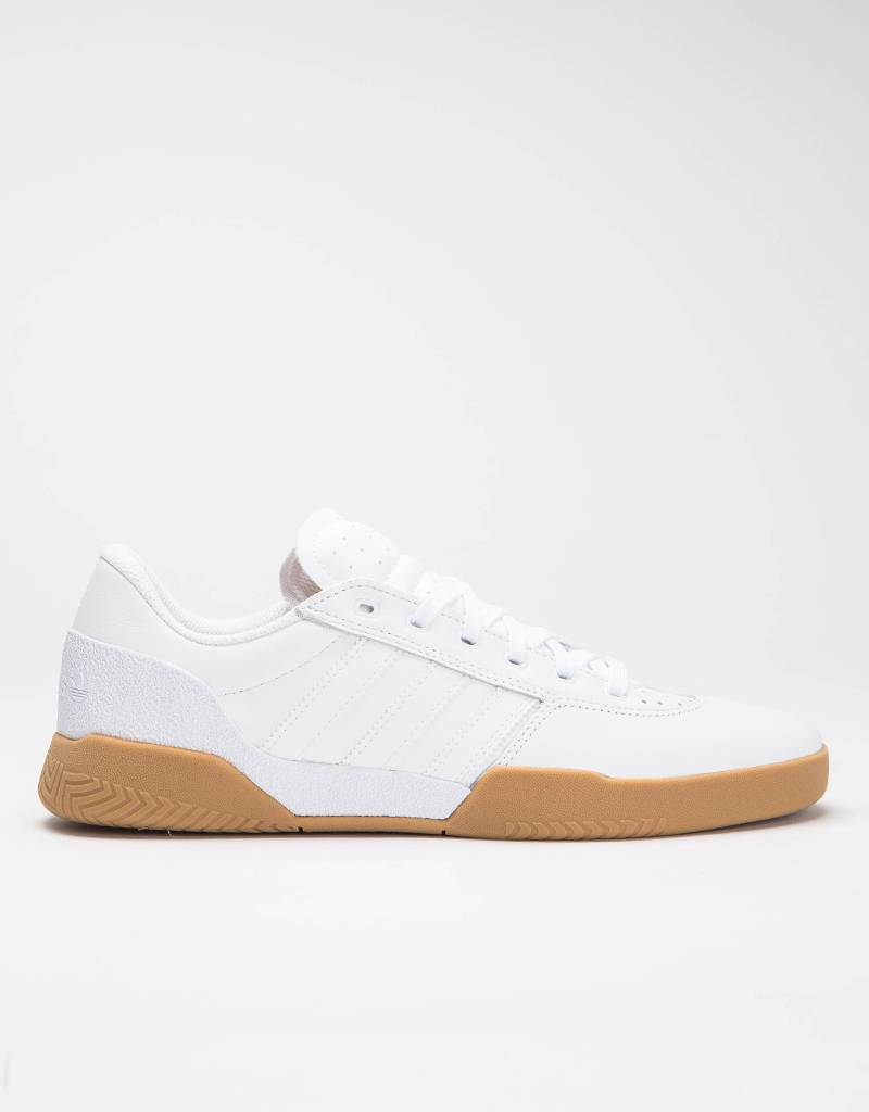 Adidas City Cup Leather White/Gum