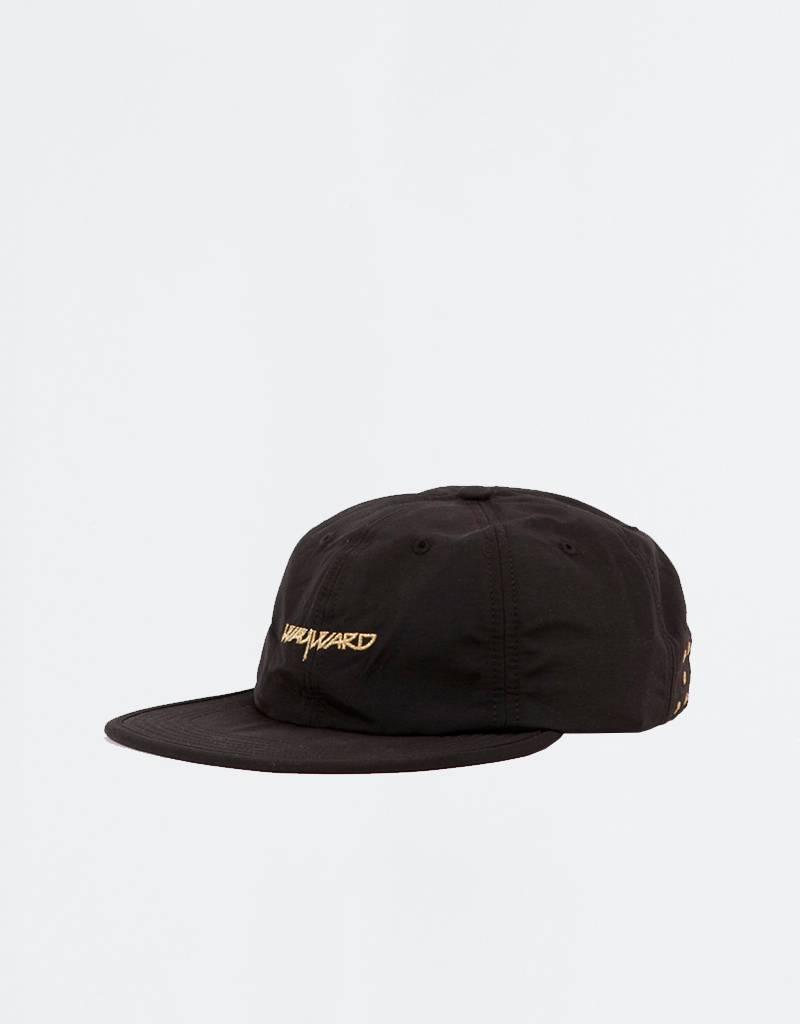 Pop Trading Co x Wayward Flexfoam Sixpanel Cap Black/Gold