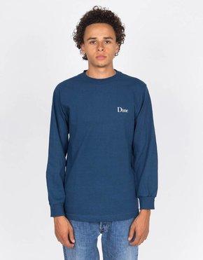 Dime Dime Classic Logo Longsleeve Stone Blue