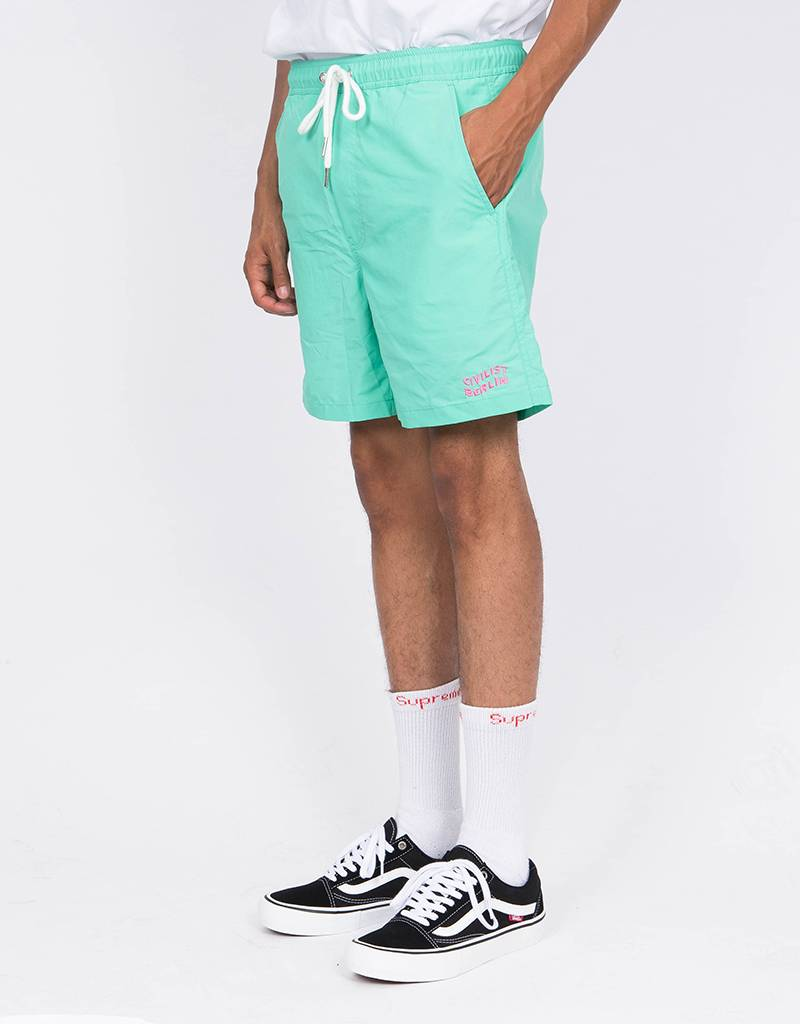 Civilist Kabel Swim Short Aqua