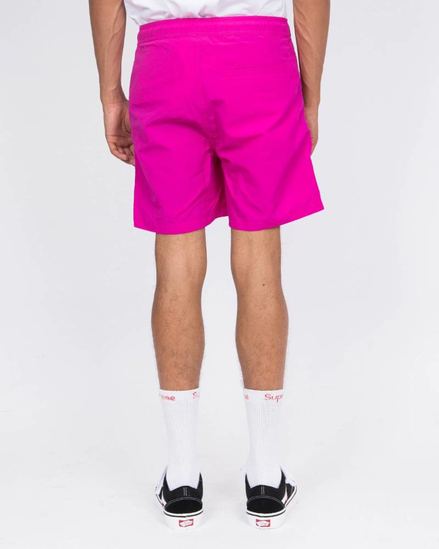 Civilist Kabel Swim Short Magenta
