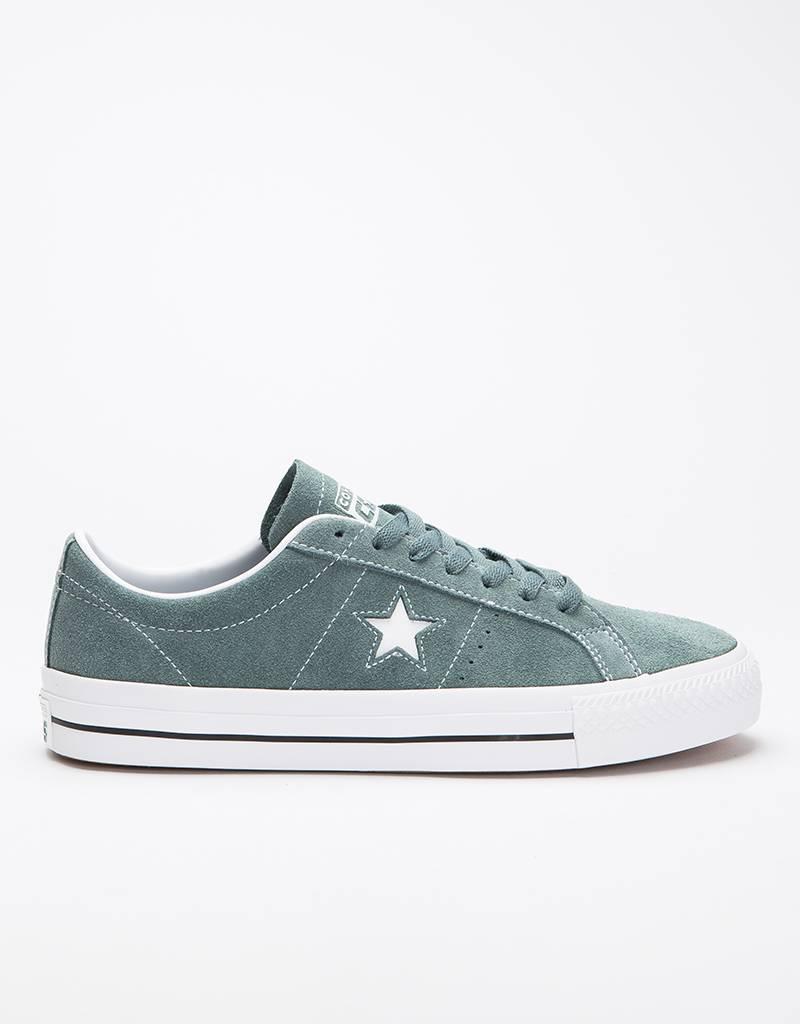Converse One Star Pro Ox Storm Hasta/White
