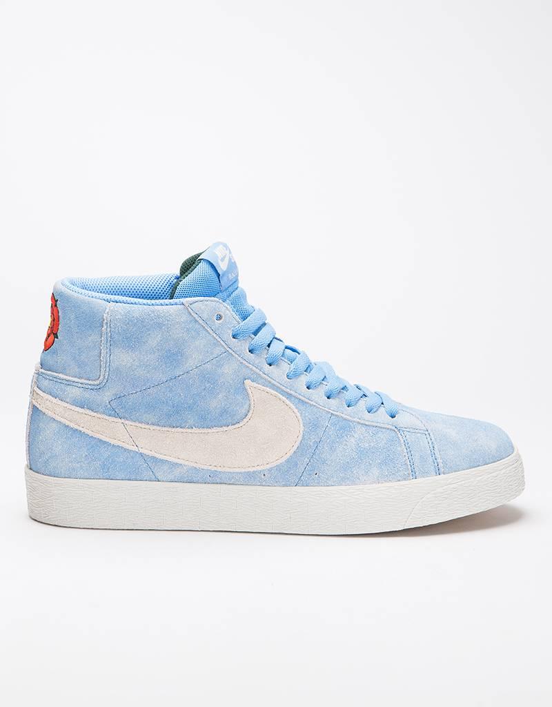 Nike SB Zoom Blazer Mid university blue/light bone-habanero red