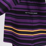 Pop Trading Company Nagel Striped Longsleeve Multicolour Navy