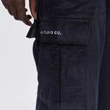 Pop Trading Company Corduroy Cargo Pants Navy