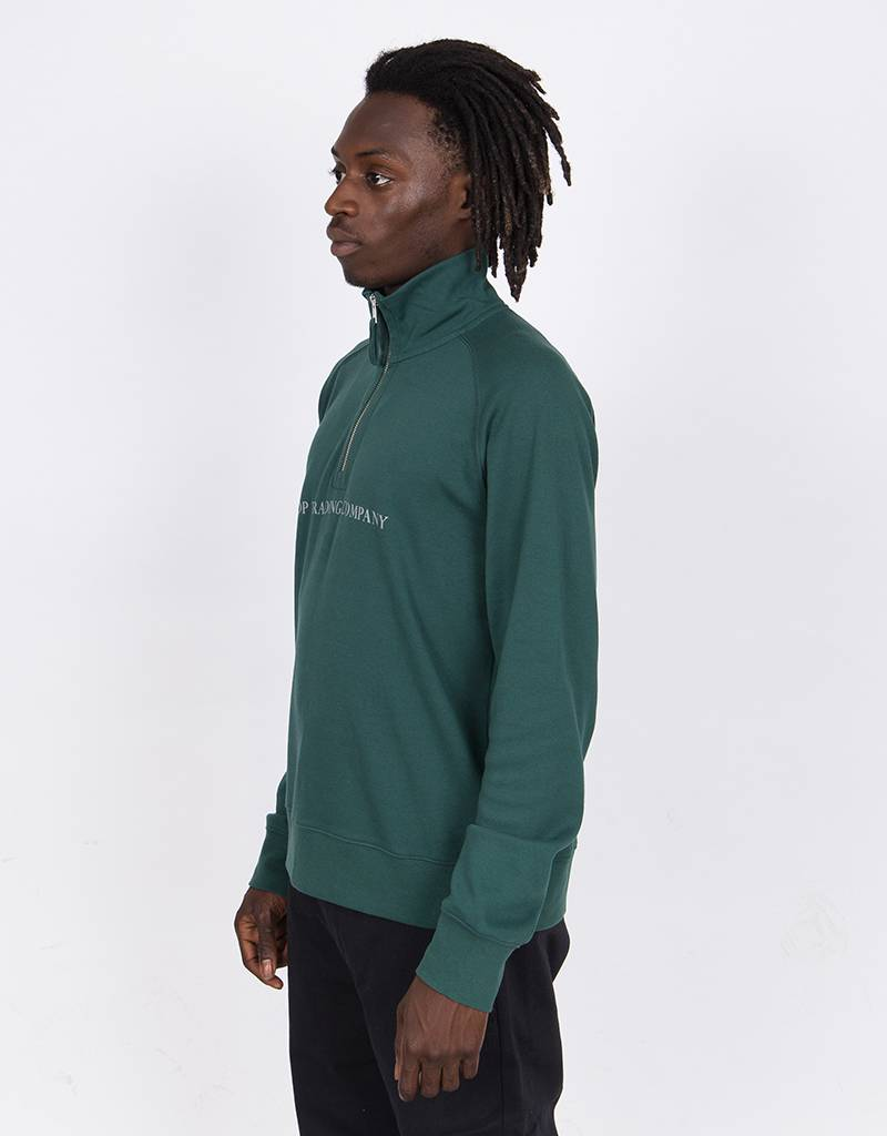 Pop Trading Company Lightweight Half zip sports green