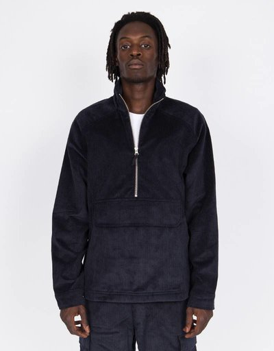 Pop Trading Company drs half zip Jacket navy